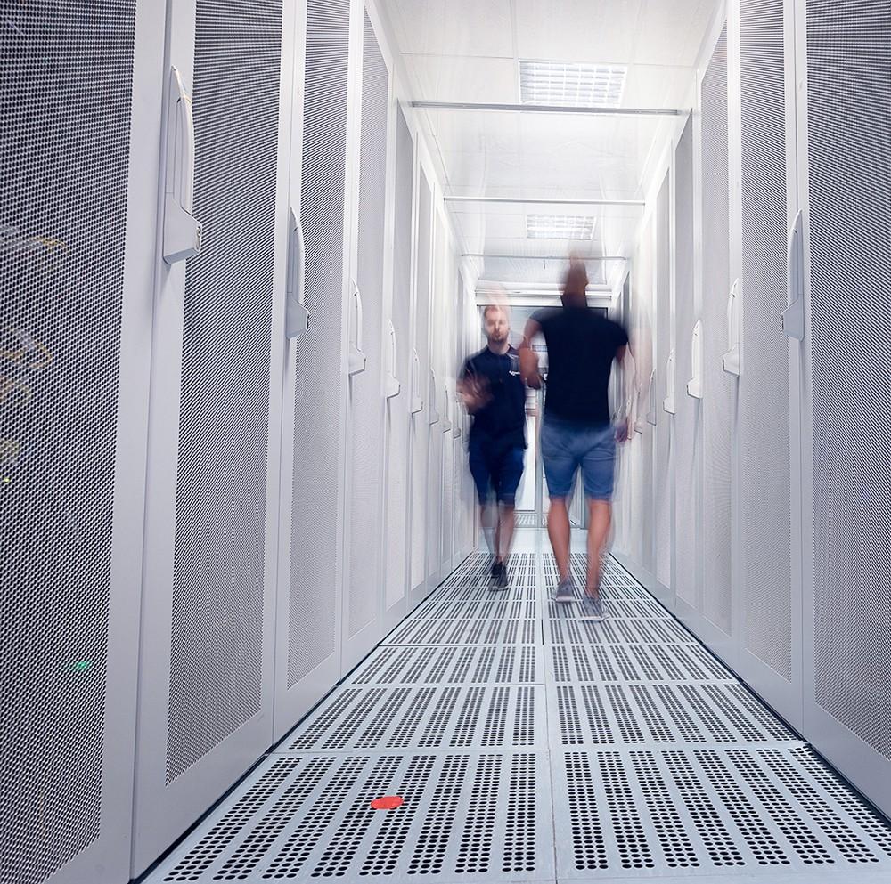 Prague Data Centre premises
