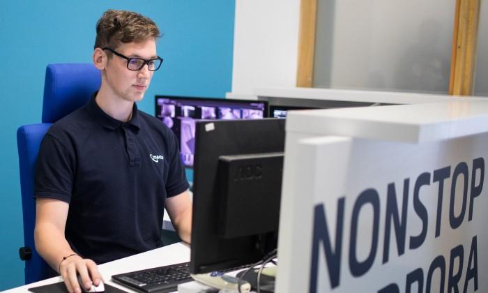 Technical support in Brno Data Centre